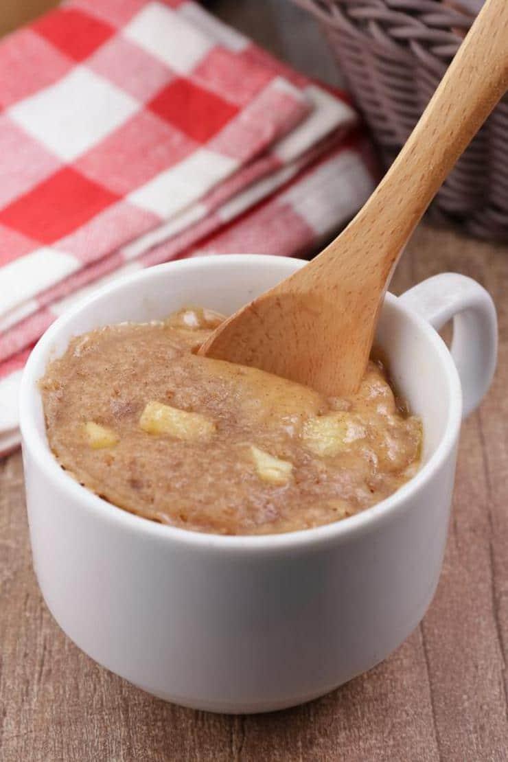 Apple Cinnamon Mug Cake! BEST Apple Cinnamon Cake In A Mug Recipe – Quick & Easy 2 Minute Microwave Idea