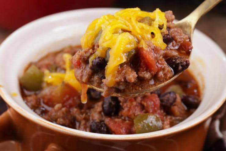 Easy Chili – Best Homemade Stovetop Chili Recipe – {Easy} Lunch – Dinner – Snacks – Side Dishes – Quick – Simple