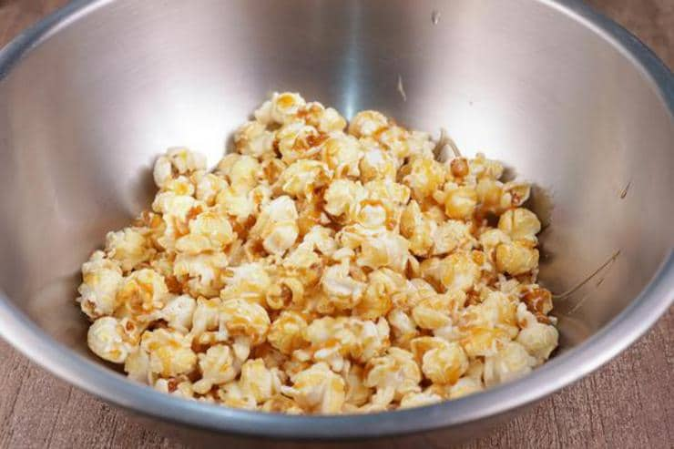 M And M Candy Caramel Popcorn