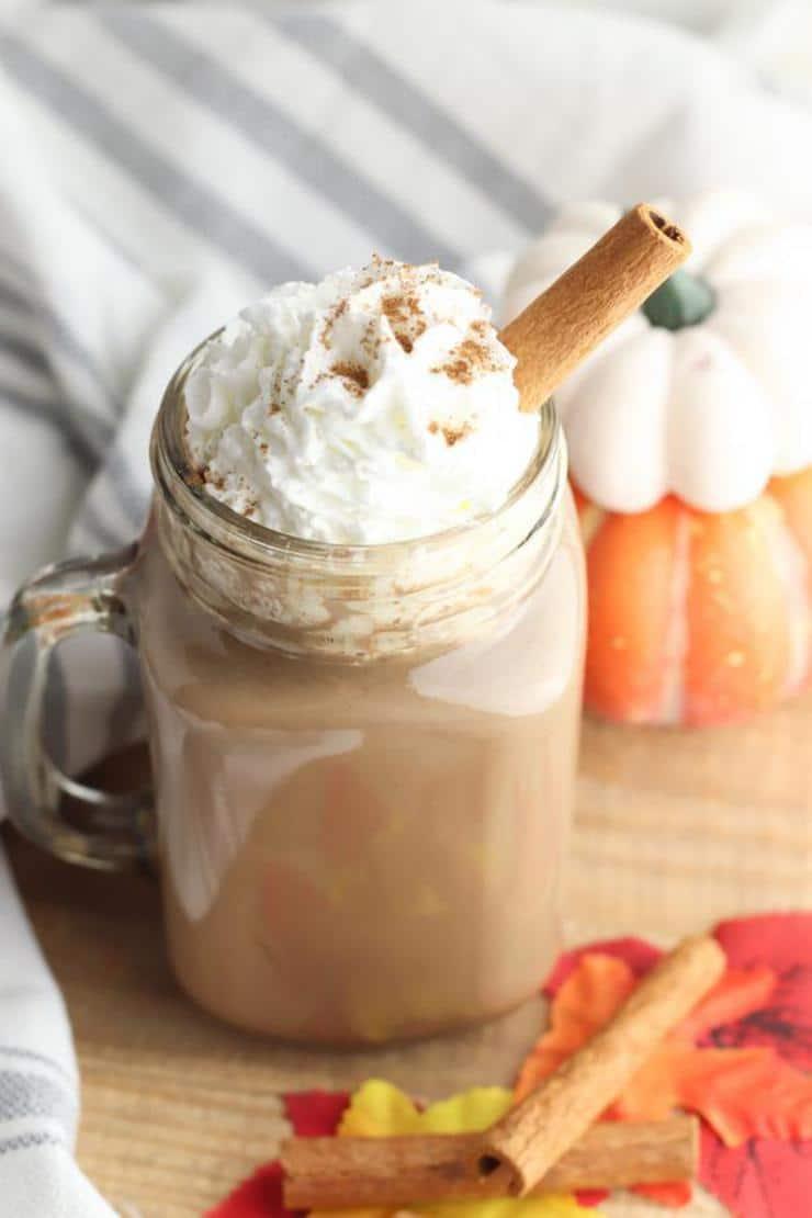 Easy Pumpkin Hot Chocolate – Best Homemade Pumpkin Hot Chocolate Slow Cooker Recipe – {Easy} Fall Recipes – Crock Pot Drinks – Quick – Simple