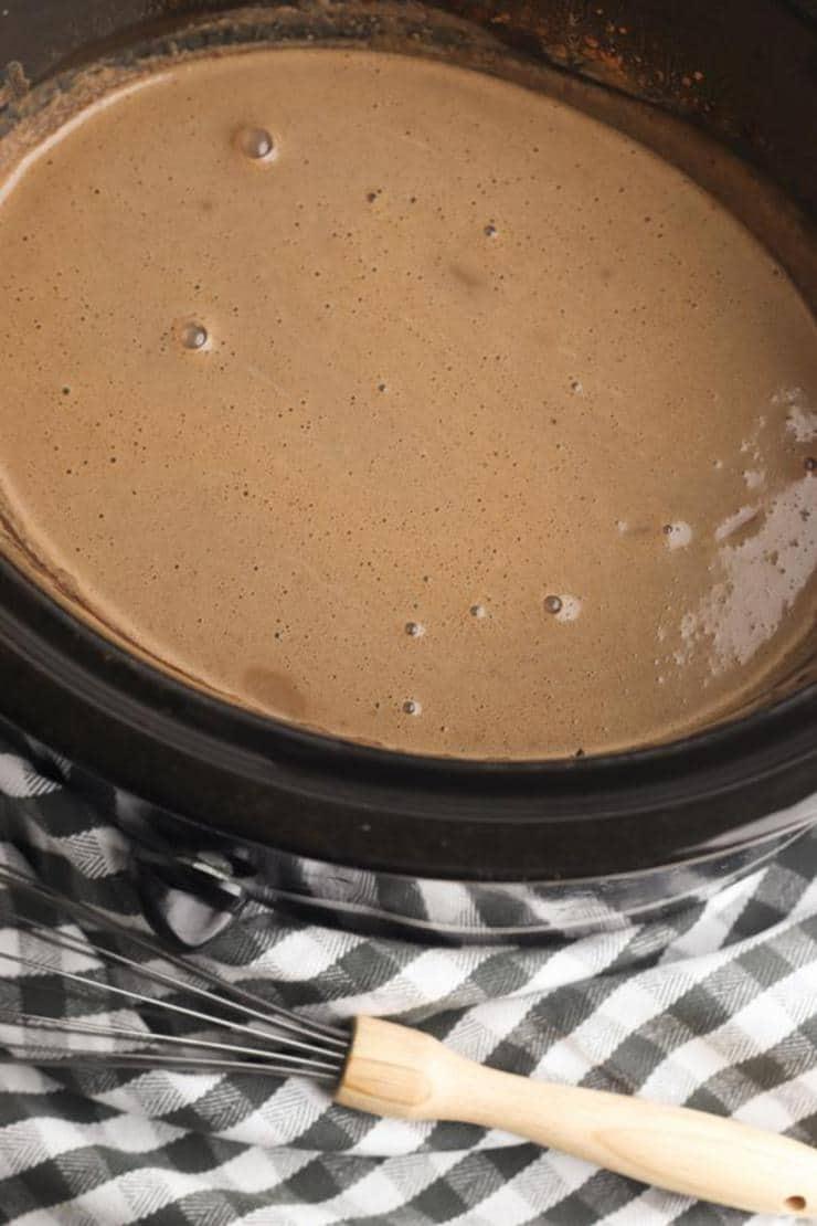 Pumpkin Hot Chocolate Slow Cooker