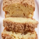 Easy Apple Crumble Bread – Best Homemade Apple Bread Recipe – {Easy} Recipes – Snacks – Desserts – Breakfast – Quick – Simple