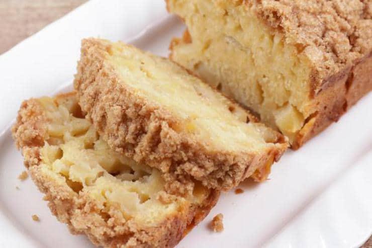 Easy Apple Crumble Bread – Best Homemade Apple Bread Recipe – {Easy} Recipes – Snacks – Desserts – Breakfast – Quick – Simple