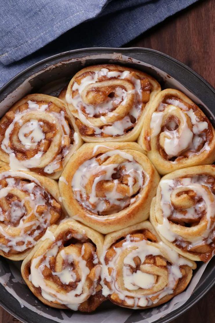 Easy Apple Pie Cinnamon Rolls – Best Homemade Apple Pie Recipe – {Easy} Recipes – Snacks – Desserts – Breakfast – Quick – Simple