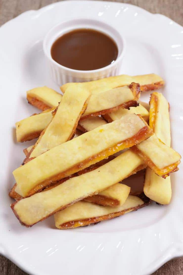 Easy Apple Pie Fries – Best Homemade Apple Pie Recipe With Caramel – {Easy} Recipes – Snacks – Desserts – Breakfast – Quick – Simple