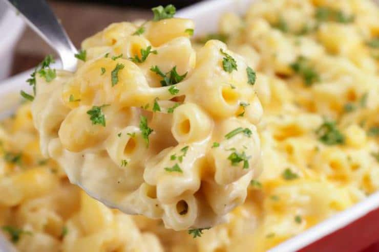 Easy Cheesy Pasta Bake! Baked Cheese Pasta Casserole Recipe – Best – Dinner - Appetizer – Side Dish – How To Make
