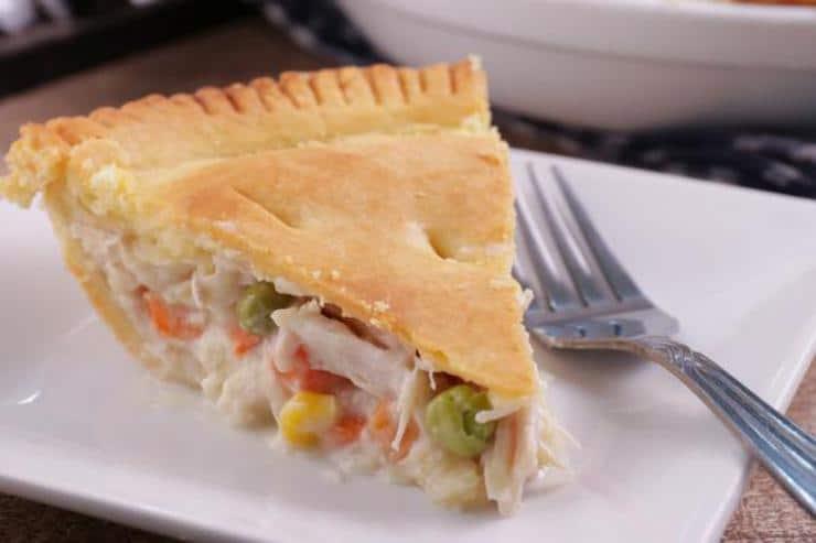 Leftover Turkey Pot Pie! Leftover Turkey Easy Recipe – Best – Dinner – Lunch – Side Dish – How To Make