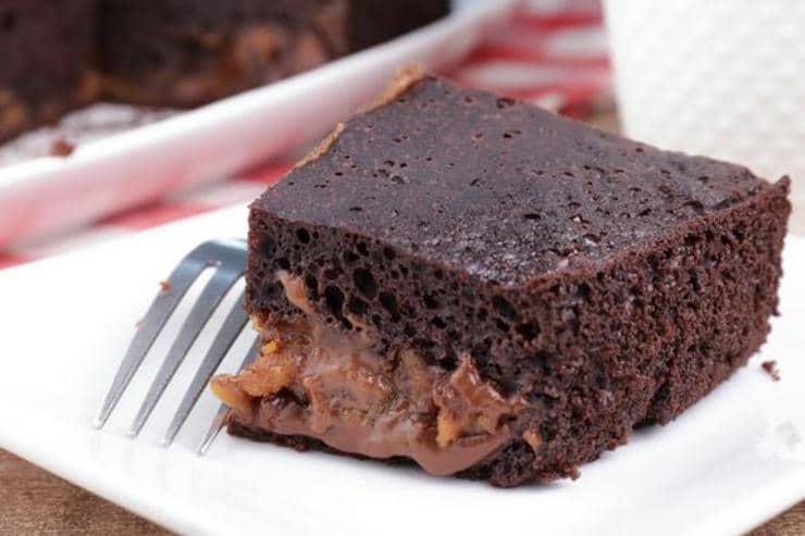 Easy Crockpot Cake – Best Homemade Peanut Butter Chocolate Lava Cake Recipe – Slow Cooker Desserts – Snacks – Quick – Simple