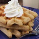 Easy Waffles – Best Homemade Eggnog Waffle Recipe – {Easy} Breakfast – Snacks – Desserts – Quick – Simple