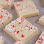 Candy Cane Fudge – EASY Peppermint Fudge Recipes – Simple and Quick Holiday Desserts – Snacks – Treats – Party Food