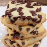 5 Ingredient Cookies – BEST Chocolate Chip Shortbread Cookie Bites – Easy – Snacks – Desserts – Party Food