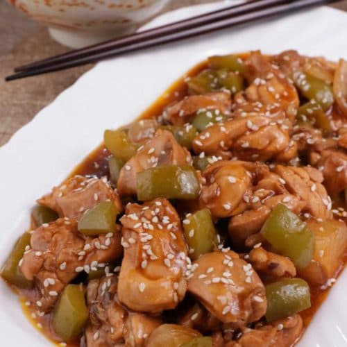 Easy Crock Pot Chicken – Best Homemade Sweet & Sour Chicken Recipe – Slow Cooker Dinner - Lunch – Party Food – Quick – Simple