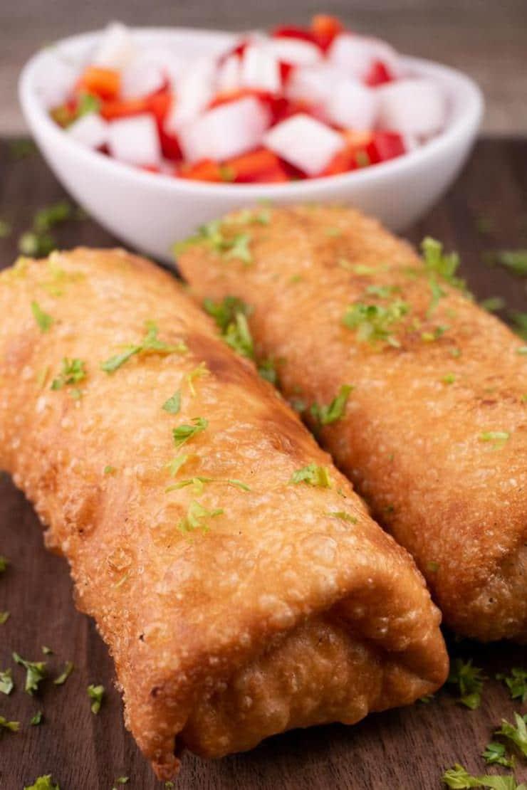 Easy Cream Cheese Chicken Taquitos