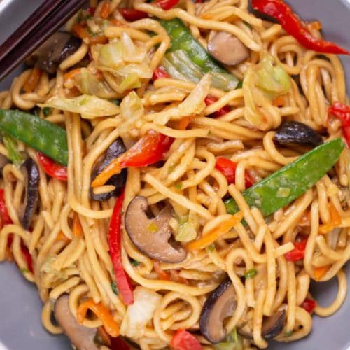 15 Minute Lo Mein – Best Homemade Easy Lo Mein Recipe – Dinner – Lunch – Quick – Simple