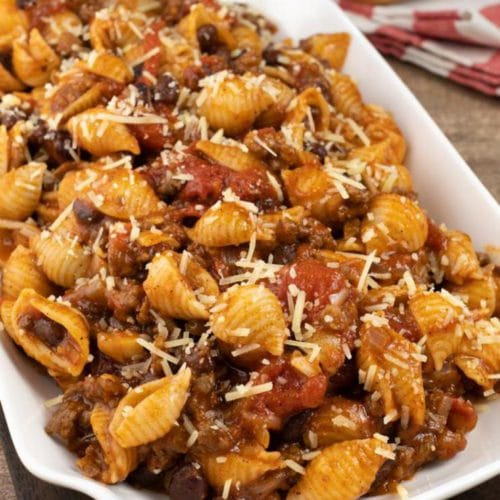 Easy Taco Pasta – Best Homemade Taco Pasta Recipe – Ground Beef - Dinner – Lunch – Quick – Simple