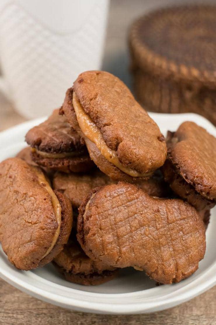 Copycat Nutter Butter Cookies – BEST Peanut Butter Cookie Recipe – Easy – Snacks – Desserts – Party Food