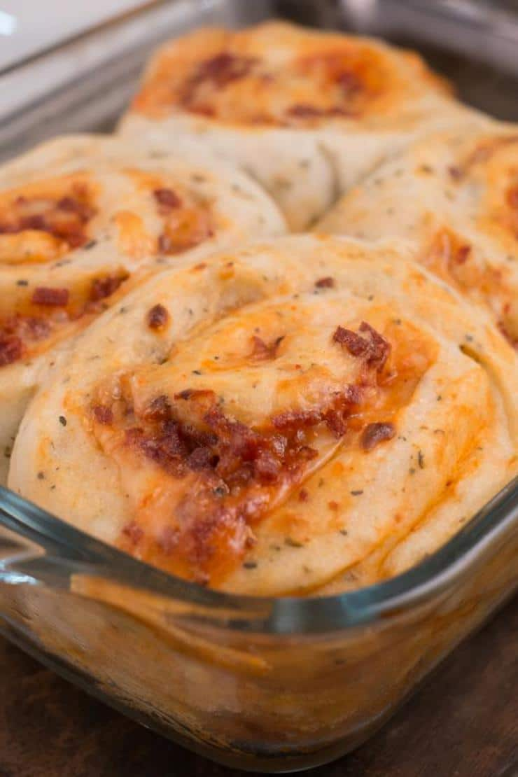 Easy Pepperoni Pizza Roll Ups – Best Homemade Pizza Pinwheels Recipe – Finger Food – Appetizers – Snacks – Party Food – Quick – Simple