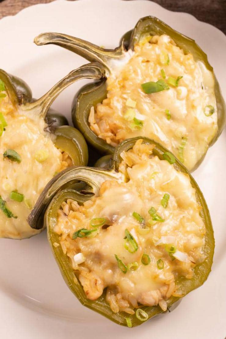 Easy Stuffed Peppers – Best Healthy Chicken Fajita Stuffed Peppers Recipe – Dinner - Lunch - Appetizers – Party Food – Quick – Simple