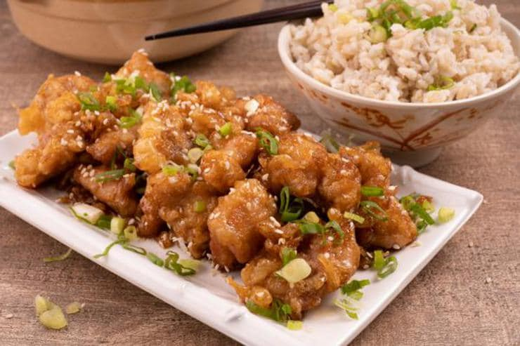 Easy Asian Crispy Honey Chicken