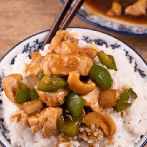 BEST Cashew Chicken – Easy Cashew Chicken Recipe – Asian – Dinner – Lunch