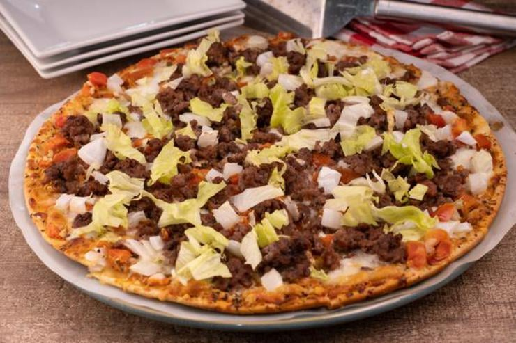 Easy Cheeseburger Pizza