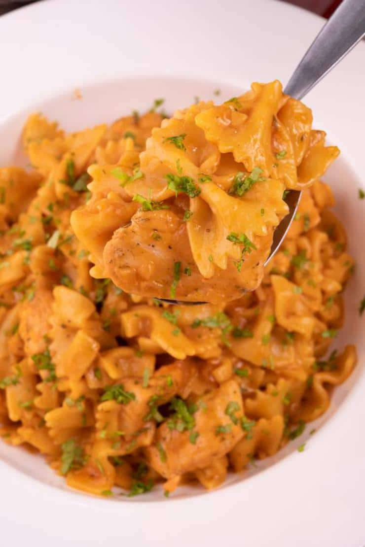 Easy Chicken Parmesan Pasta – Best Homemade Chicken Parmesan Pasta Recipe – Dinner – Lunch – Quick – Simple