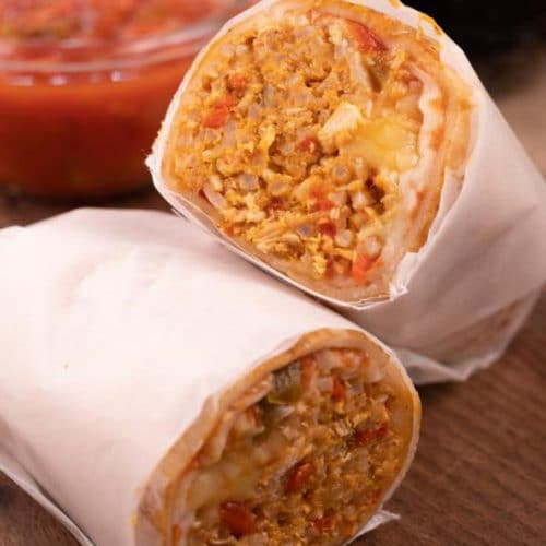 Easy Chipotle Chicken Burritos - Best Mexican Recipe