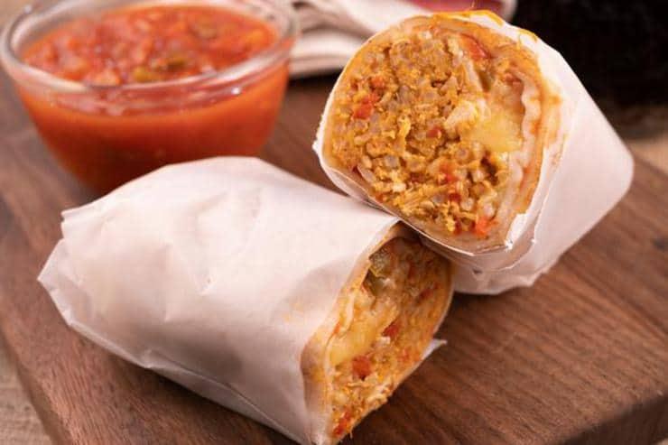 Easy Chipotle Chicken Burritos