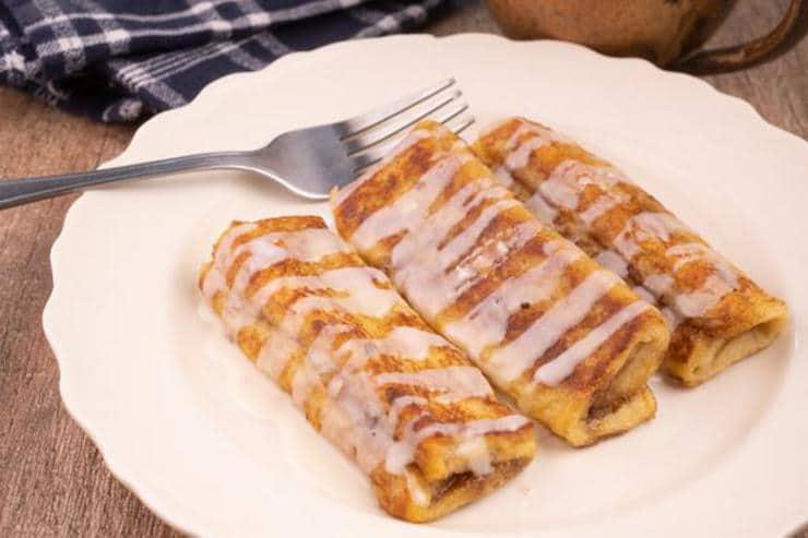 Easy Cinnamon Roll French Toast Roll Ups