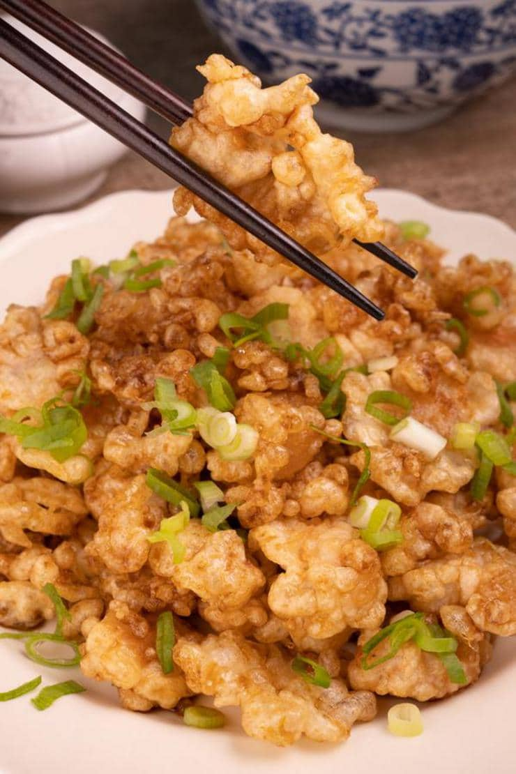 Easy Crispy Honey Shrimp