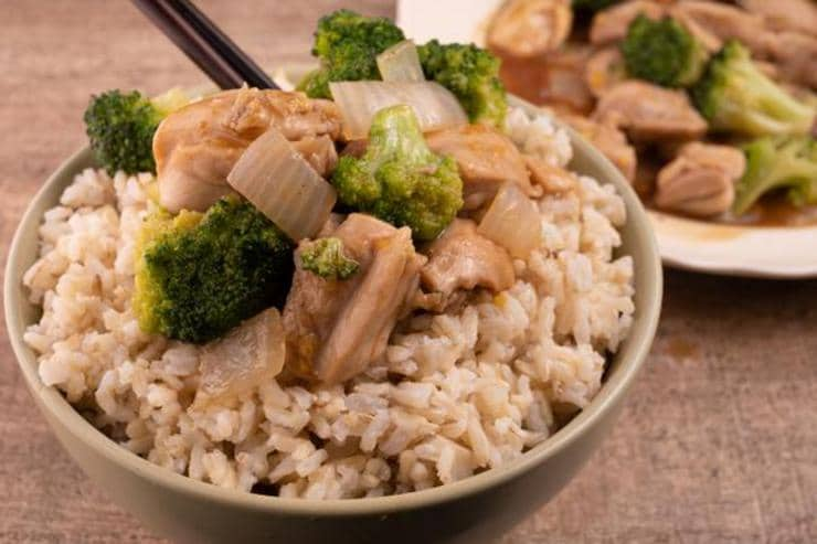 Easy Ginger Chicken Broccoli