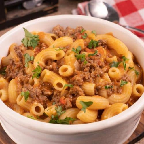 Easy Goulash Pasta – Best Homemade Goulash Recipe – Dinner – Lunch – Quick – Simple