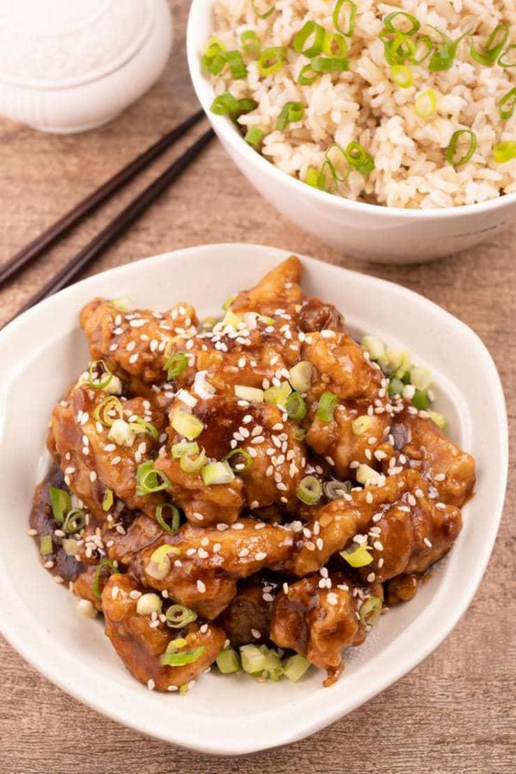 Easy Honey Sesame Chicken