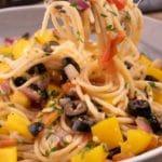 Easy Mediterranean Diet Olive Oil Pasta – Best Pasta Recipe
