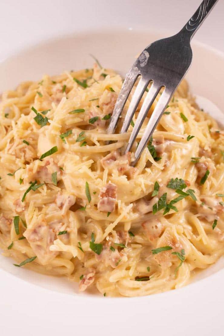 Easy Spaghetti Carbonara