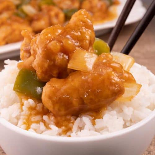 Easy Sweet And Sour Chicken - Best Chinese Food Recipe