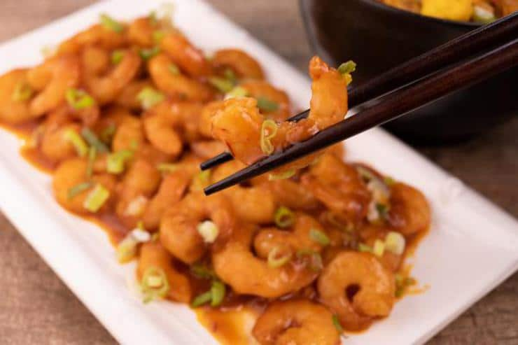 Easy Sweet Chili Shrimp