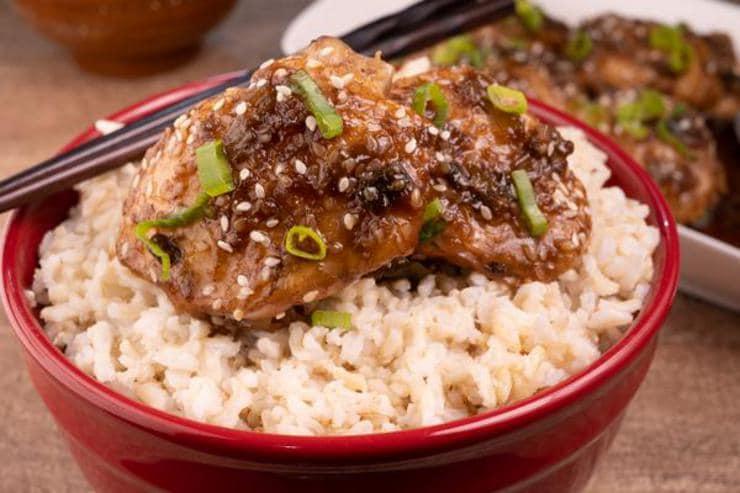 Easy Teriyaki Chicken Thighs