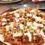 Easy Mexican Pizza – Best Homemade Copycat Taco Bell Mexican Pizza Recipe – Dinner - Lunch - Appetizers – Party Food – Quick – Simple