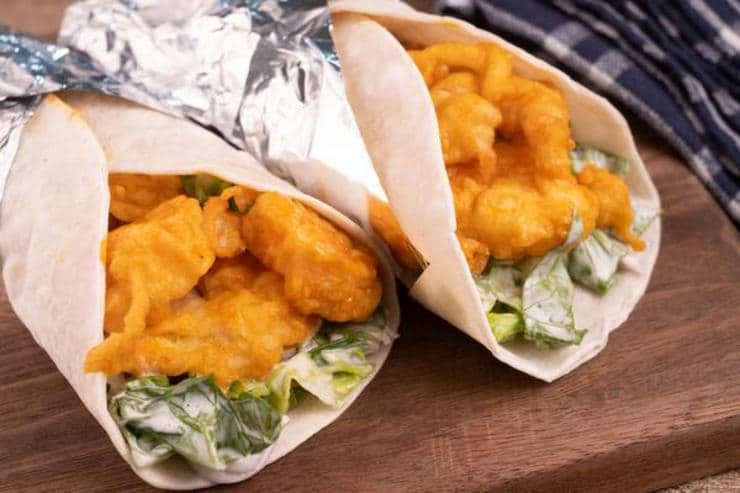 Easy 15 Minute Buffalo Shrimp Tacos