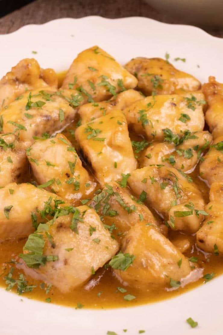 15 Minute Honey Mustard Chicken - BEST Honey Mustard Chicken Recipe – {Easy} Dinner - Lunch