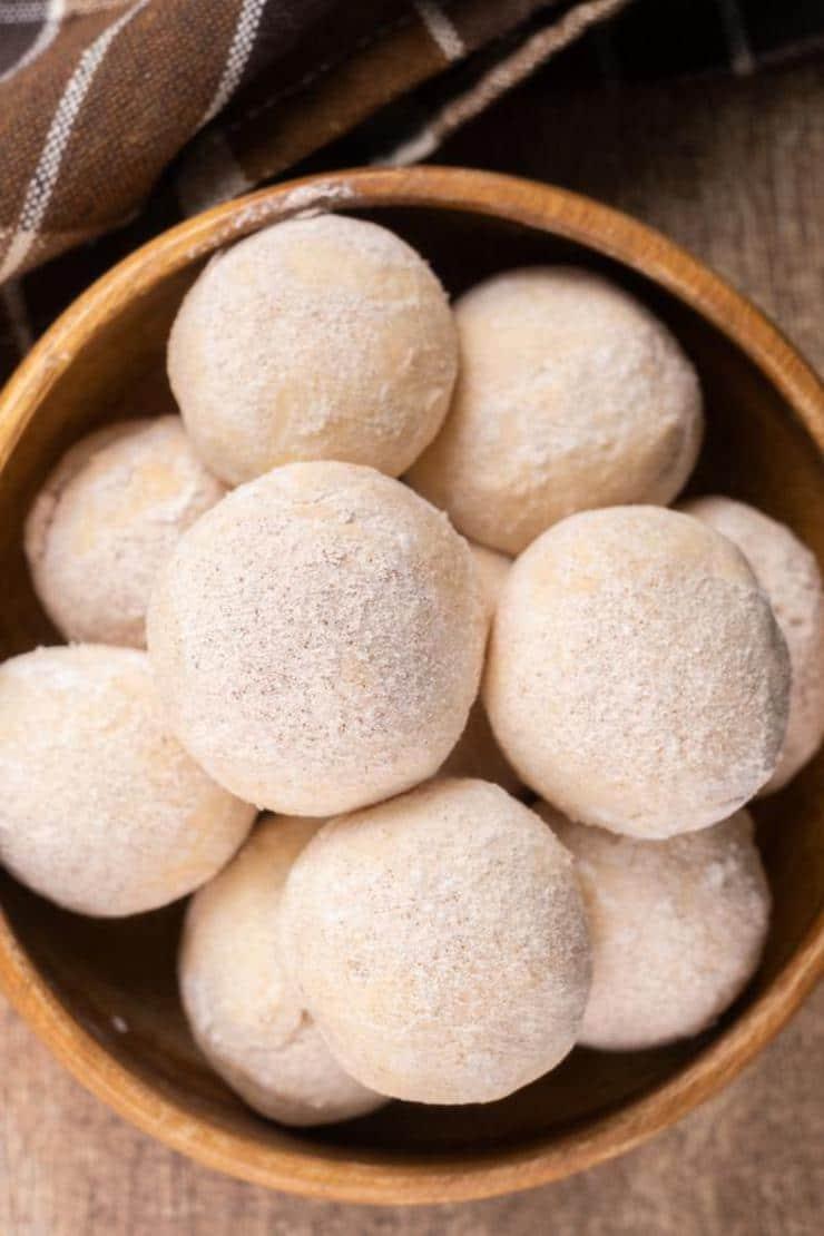 Easy 2 Ingredient Cinnamon Sugar Donut Holes