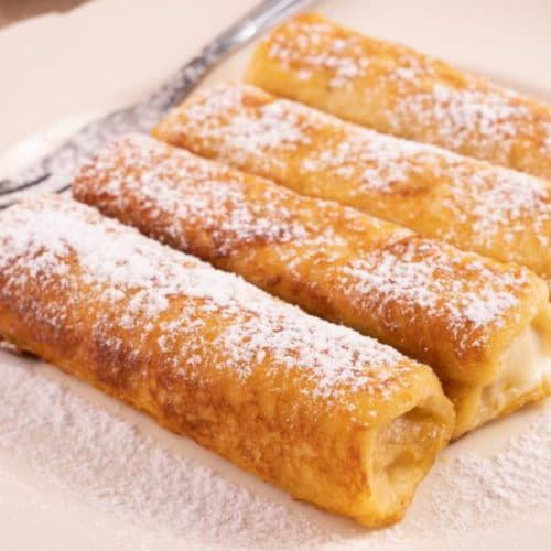 Best French Toast – Best Homemade Banana Bread French Toast Roll Ups Recipe – {Easy} Breakfast – Dinner – Snacks – Lunch – Quick – Simple