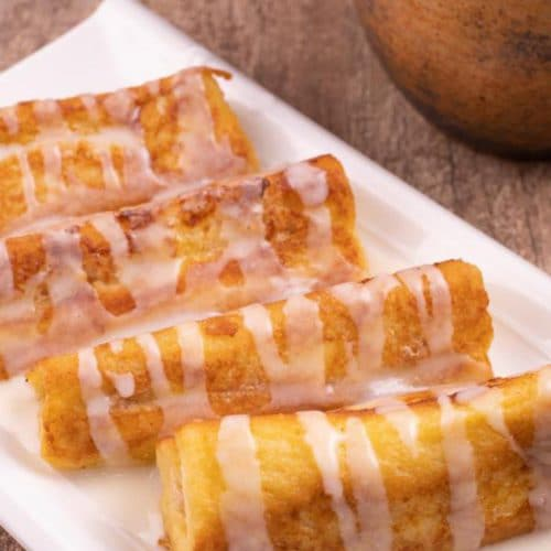 Easy French Toast – Best Homemade Cinnamon Cream Cheese Roll French Toast Roll Ups Recipe – {Easy} Breakfast – Dinner – Snacks – Desserts – Quick – Simple