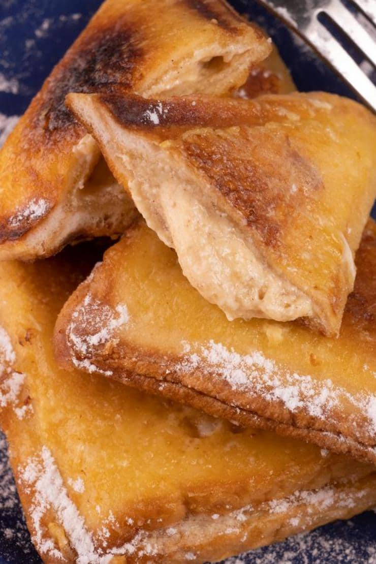 Easy Cinnamon Roll French Toast Pockets