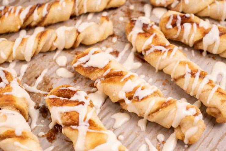 Easy Cinnamon Roll Twists