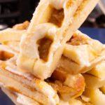 Easy Waffles – Best Homemade Cinnamon Roll Waffle Sticks Recipe – Breakfast – Desserts – Snacks – Quick – Simple