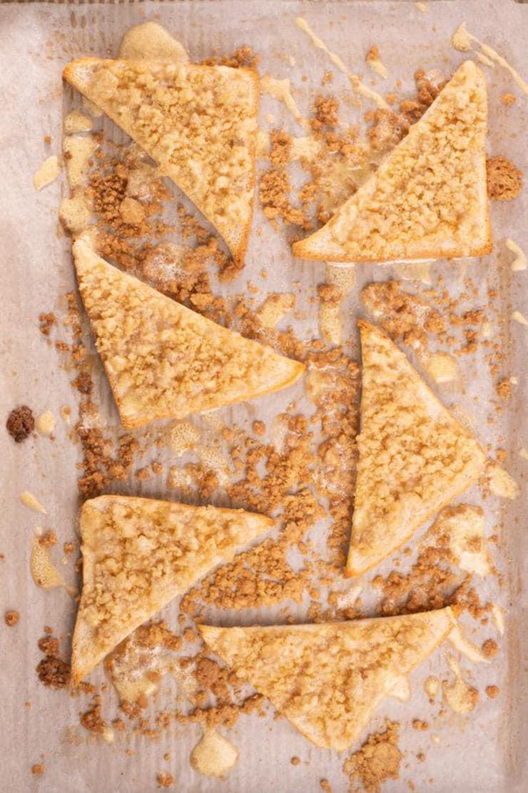 Easy Cinnamon Sugar Pizza