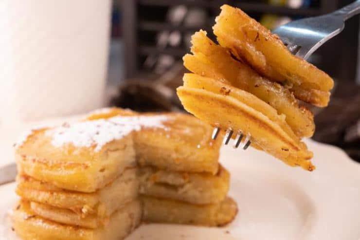 Easy French Toast Pancakes
