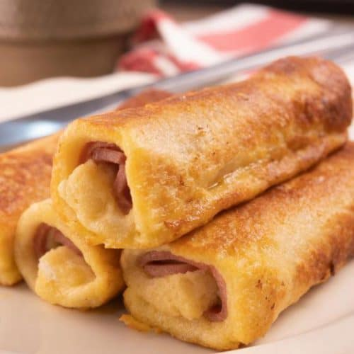 Best French Toast – Best Homemade Ham & Cheese French Toast Roll Ups Recipe – {Easy} Breakfast – Dinner – Snacks – Lunch – Quick – Simple